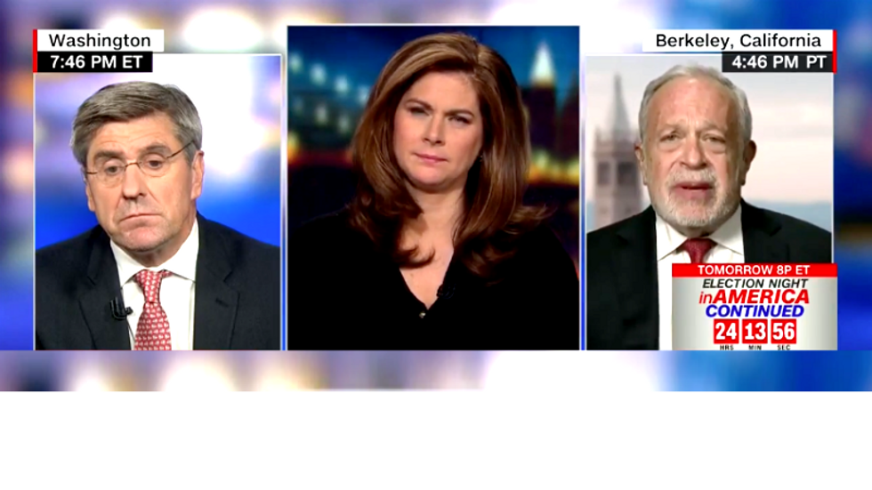 Robert Reich smacks down Trumpster claiming Dems are all about 'greed and envy'