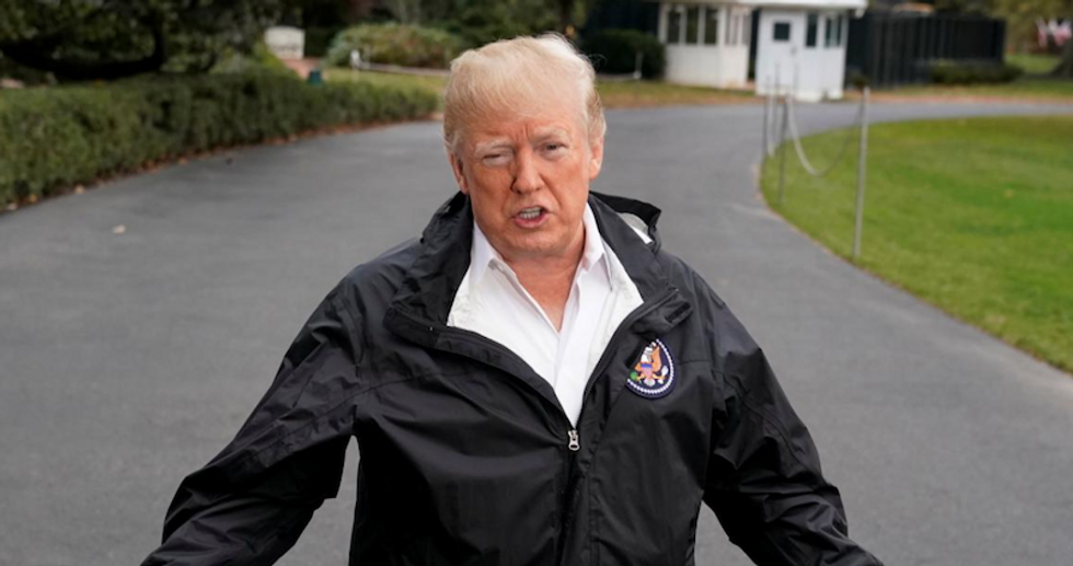 Trump lashes out at the press for reporting on his cluelessness about Hurricane Dorian