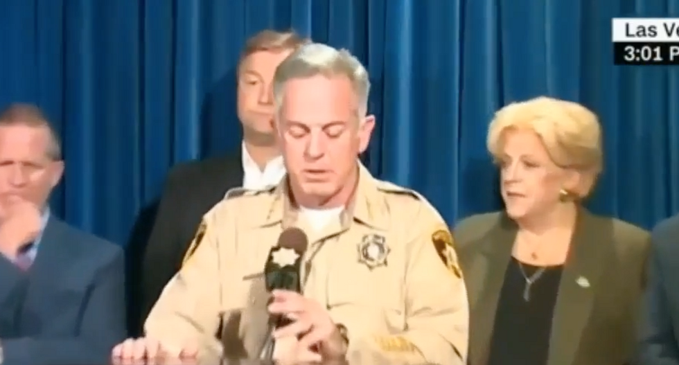 WATCH LIVE: Officials hold press briefing on deadly massacre in Las Vegas