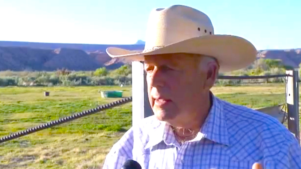 Nevada rancher threatens 'range war' if feds don't let him continue grazing his cattle for free