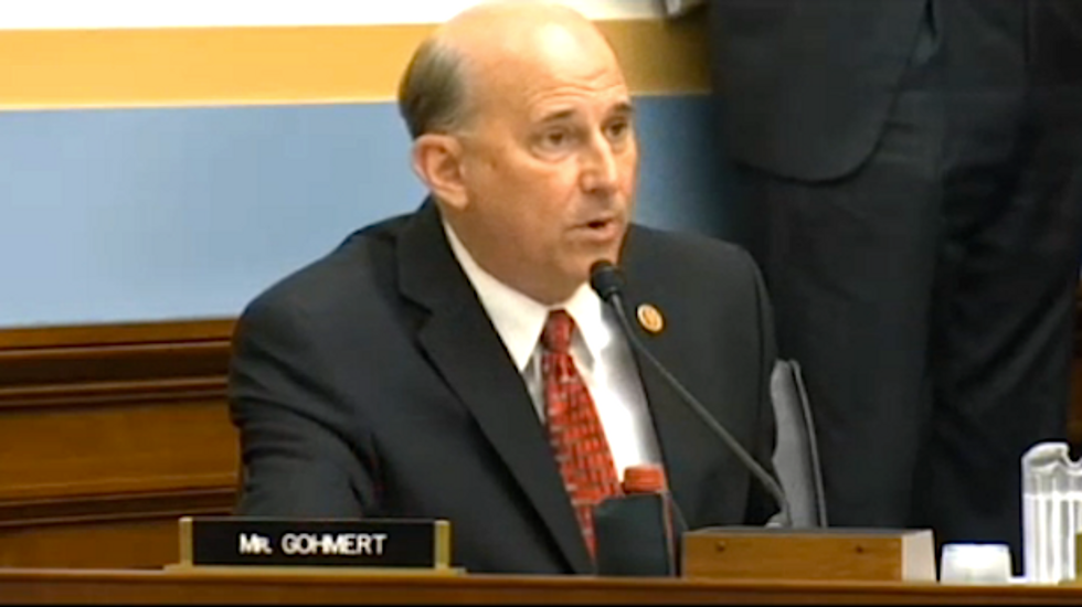 Attorney general mocks Louie Gohmert at hearing: 'Good luck with your asparagus'