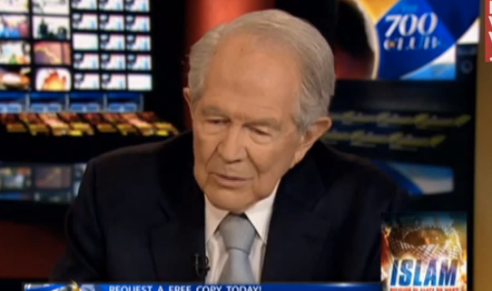 Pat Robertson asks God to 'deliver us from this president'