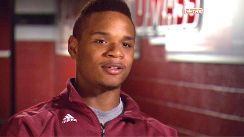 UMass guard Derrick Gordon becomes first openly gay NCAA men's basketball player