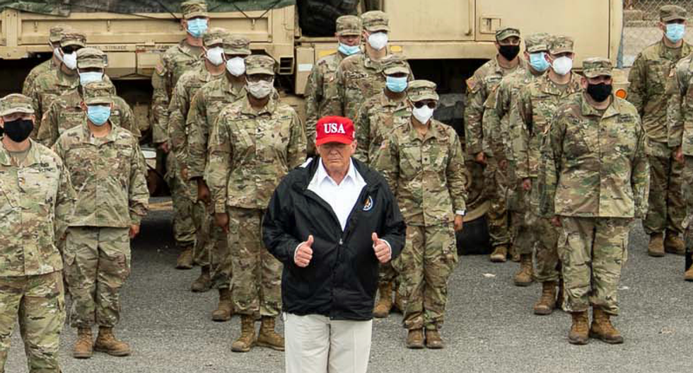 Historian warns 'desperate' Trump may launch a war because of his awful poll numbers: 'Be suspicious'