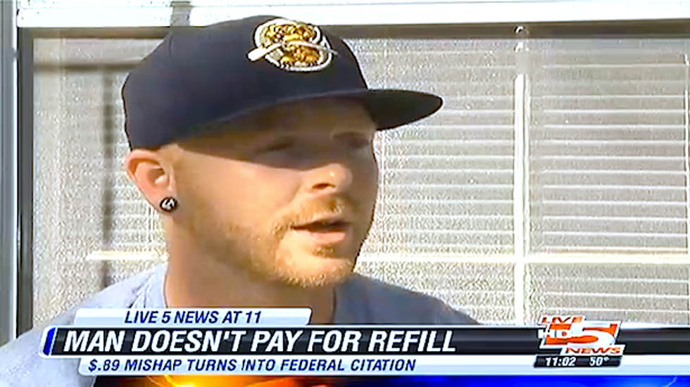 SC man hit with $525 federal fine for failing to pay for 89-cent drink refill at VA hospital