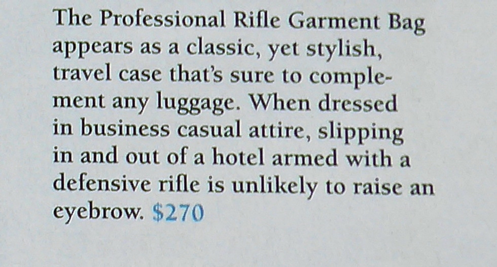 Slip 'in and out of a hotel armed' and undetected: Guns & Ammo editor outlines AR-15 bag features in November issue