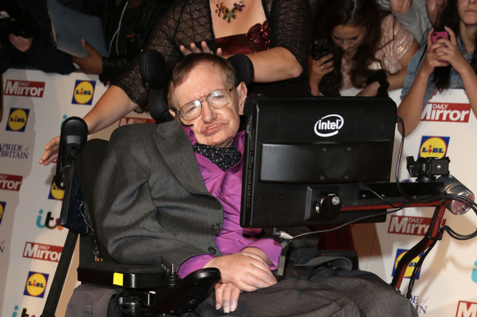 Stephen Hawking warns of possible dire threat to mankind from artificial intelligence