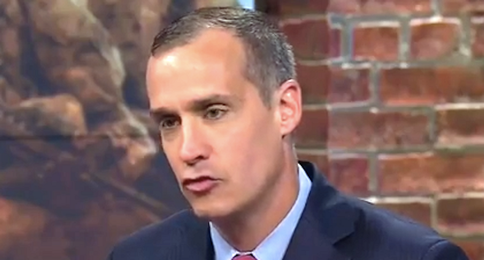 Corey Lewandowski's new lobbying firm uses Trump's tweets like a panhandler uses a squeegee: NY Times
