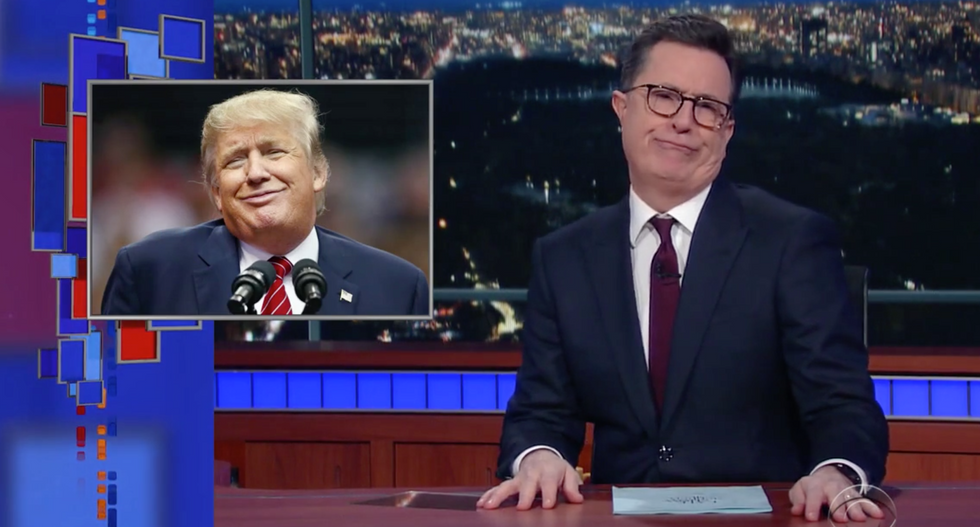 WATCH: Colbert eviscerates 'so-called president' Trump's 'bullsh*t' voter fraud investigation