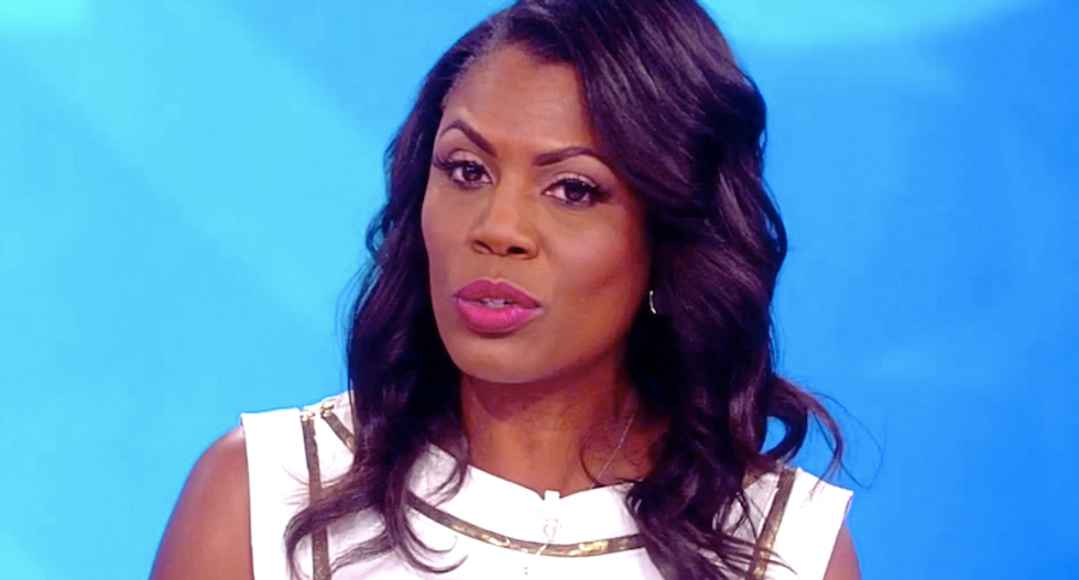 Omarosa visits The View to leak new tape of Trump crashing a White House meeting to rant about Hillary and Russia