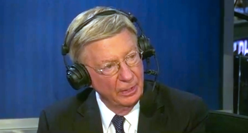 George Will: Trump won't release tax returns because they show his ties to Russian oligarchs