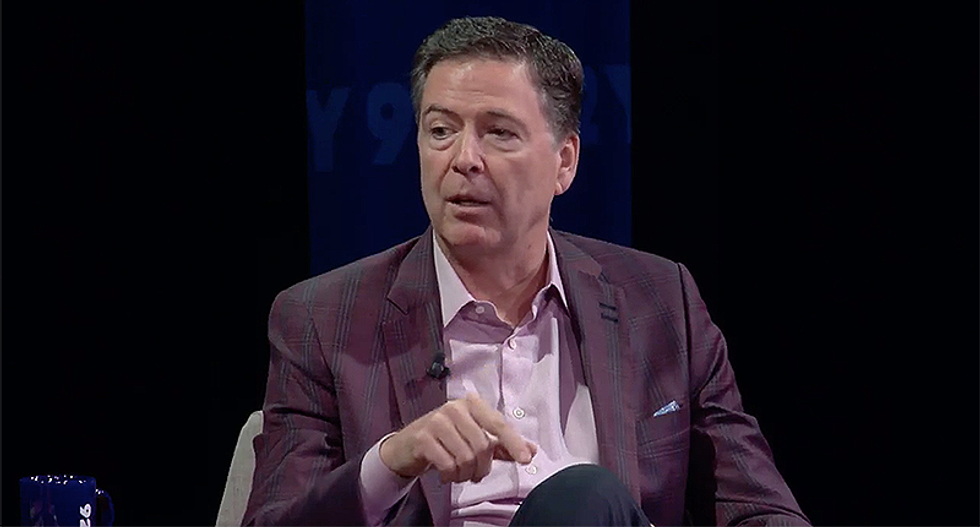 James Comey: The only reason Trump isn't being indicted right now is because he's president