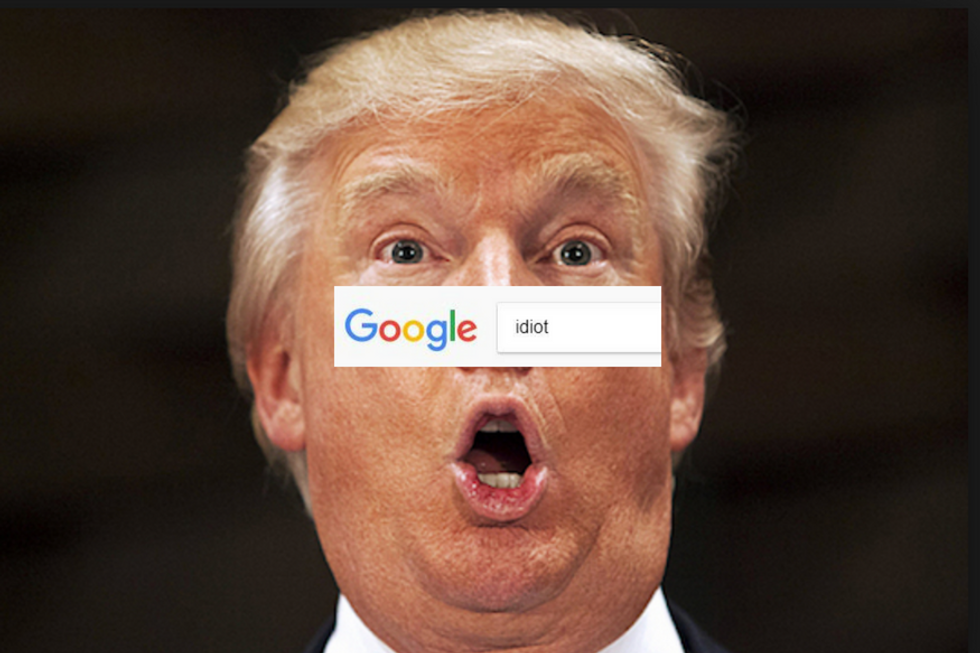 WATCH: Google CEO forced to explain why Trump's photo appears when you search for 'idiot'