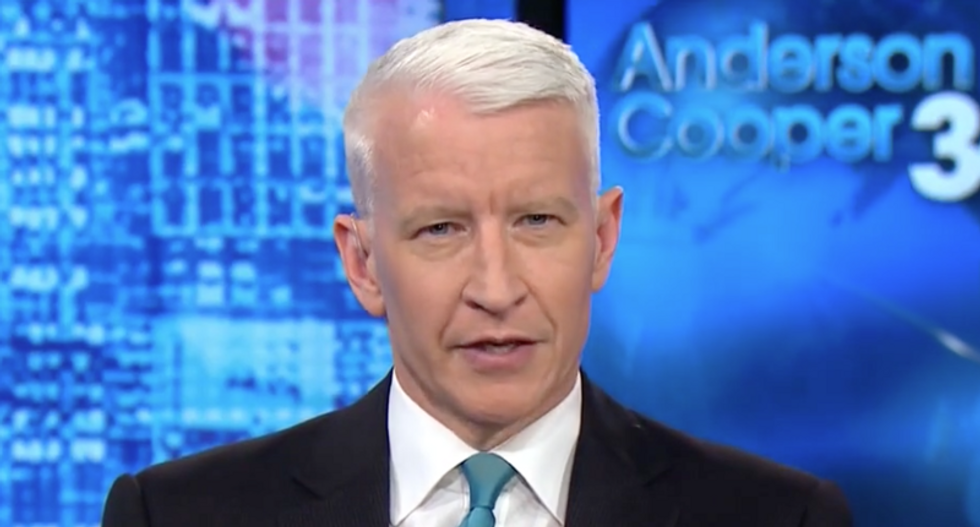 Anderson Cooper hilariously mocks Trump for 'straight up making up' a country during UN lunch