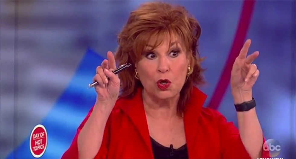 Joy Behar slams the debate expectations game: If Trump 'doesn't belch in her face' he will win