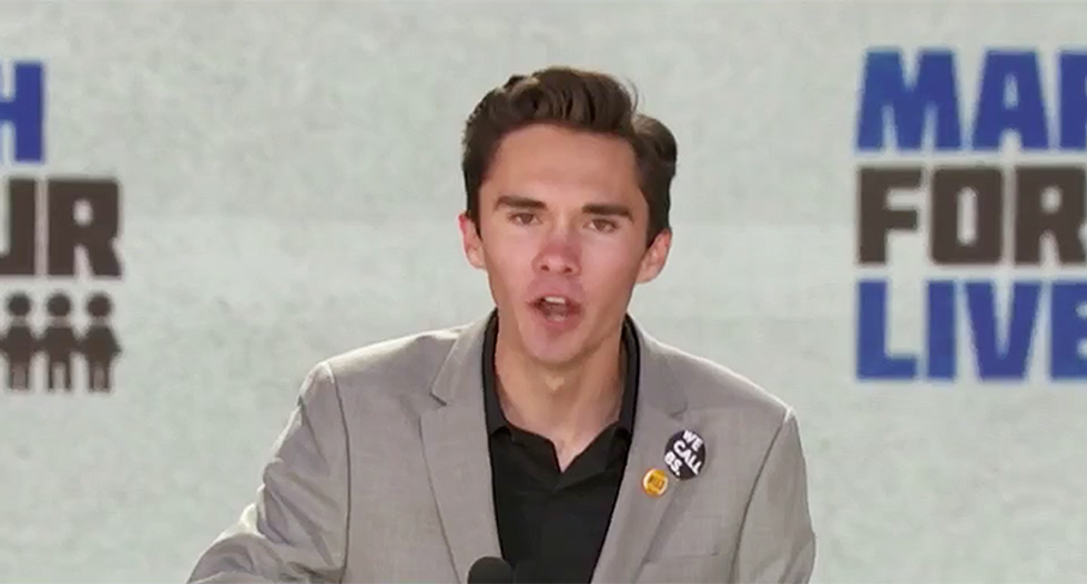 David Hogg demands young voters vote out NRA shills in Washington: 'You can hear the people in power shaking