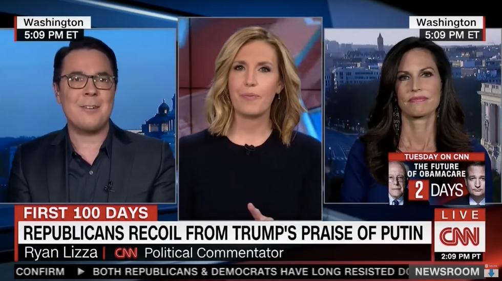CNN segment explodes when Trump supporter's jab against 'liberals' backfires