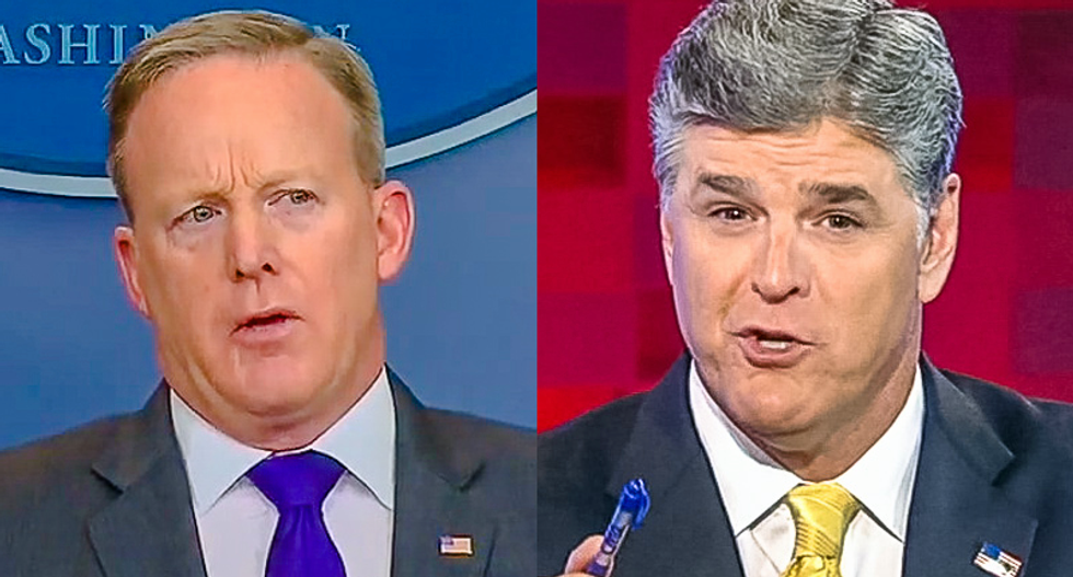 Sean Spicer unable to find high-paying media job after ripping networks in Hannity interview: report