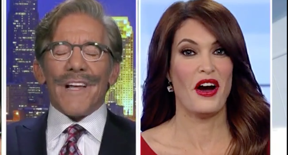 Fox News host smacks down Geraldo Rivera for making a sexual harassment 'exception' for senior citizens -- like himself