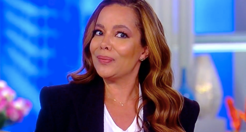 The View's Sunny Hostin torches Ivanka's flimsy denial: 'You just kind of confirmed the BuzzFeed story'
