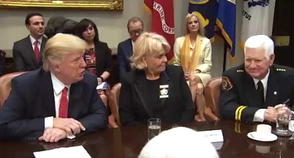 WATCH: Trump casually threatens to 'destroy' career of state lawmaker who proposed bill he didn't like