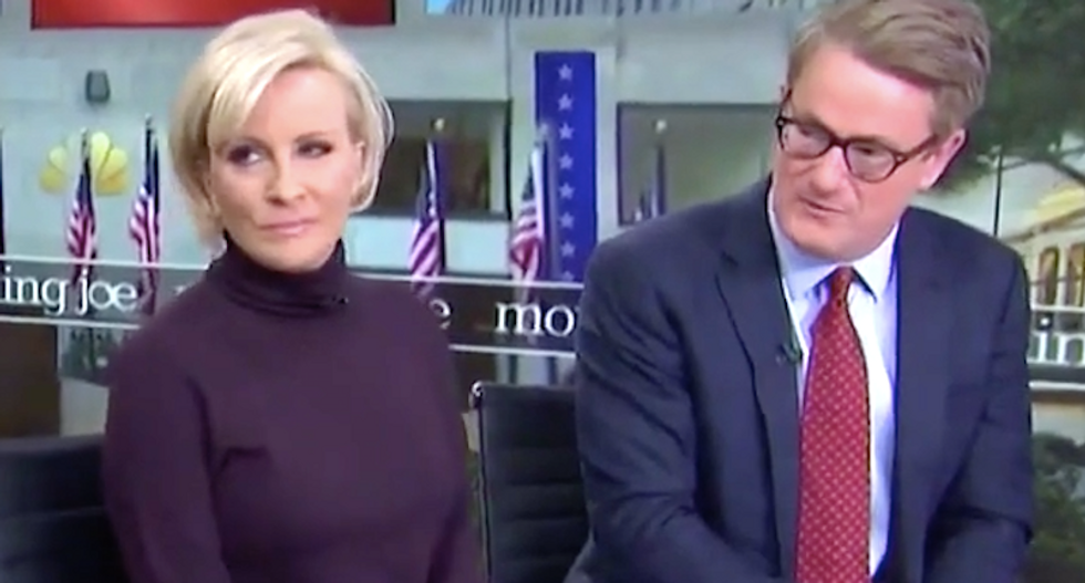MSNBC's Joe and Mika: Trump going 'out of his mind' because media won't 'kiss his a**'
