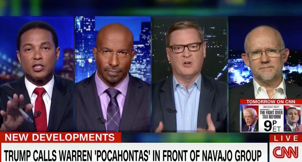 CNN panel derails after Rick Wilson calls Sarah Sanders 'a congenital liar' with a 'shriveled husk left in her soul'