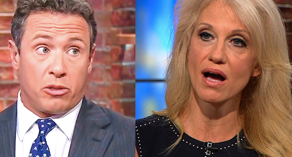 Kellyanne Conway freaks out on CNN's Cuomo when confronted with McCabe accusations during off the rails interview