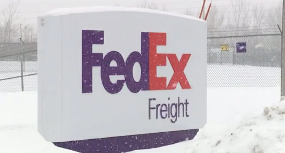 FedEx worker found frozen to death outside Illinois delivery hub