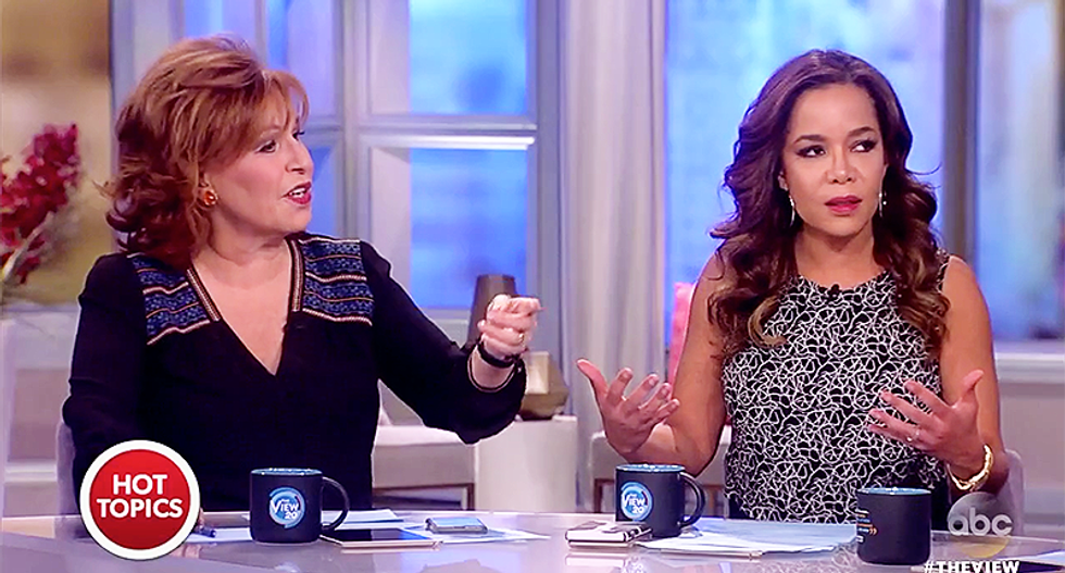 Fight breaks out on 'The View' when conservative claims Obama lied just as much as Trump