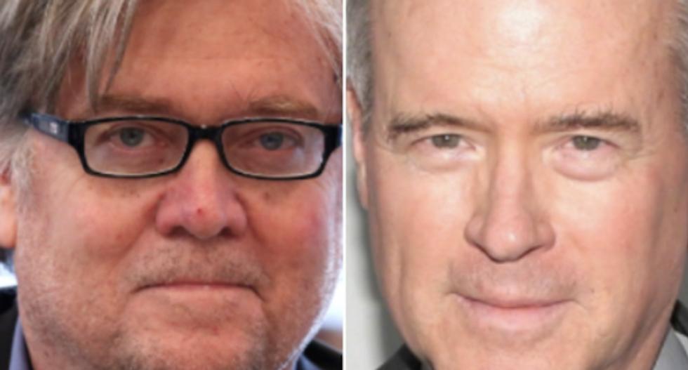 Steve Bannon and Trump megadonor Robert Mercer plotting an even more right-wing Fox News