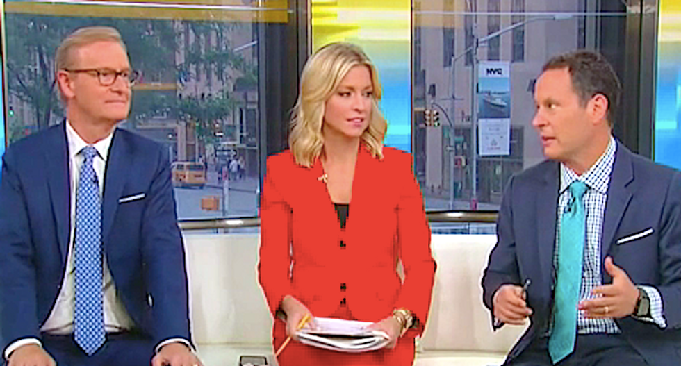 Fox & Friends complain Pete Buttigieg is a bully for calling Trump's insults 'mean'