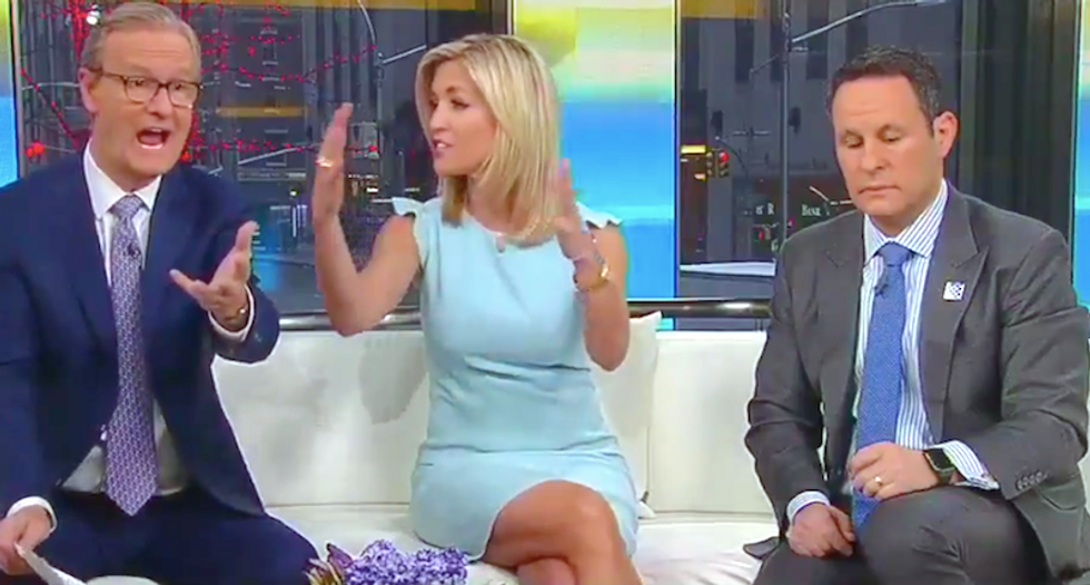 Fox & Friends hosts repeatedly warn viewers Justin Smollett hoax could have caused 'race riots'