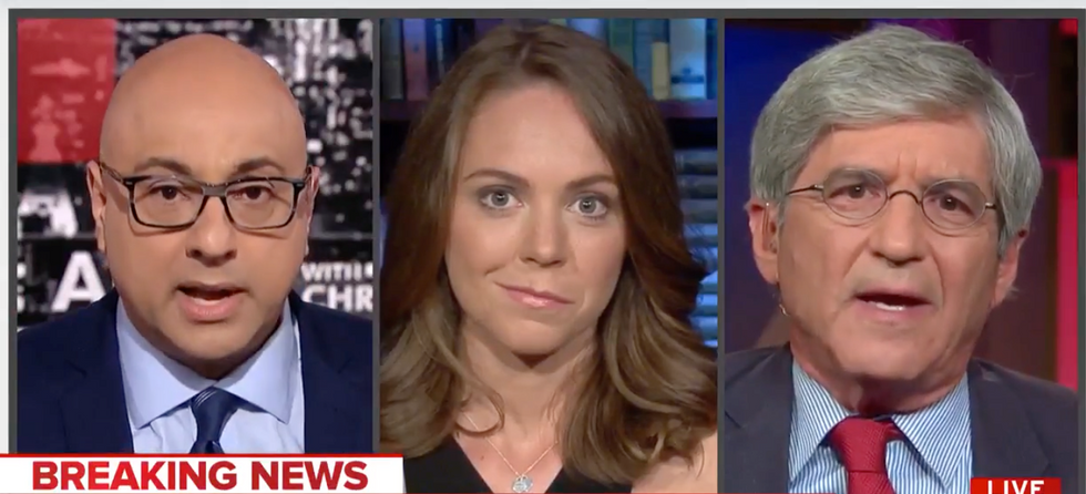WATCH: Veteran journalist gets in screaming match with MSNBC host and panelist over Trump clearance revocation freakout
