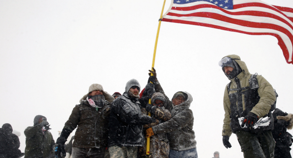 For US veterans, pipeline protest promises to galvanize activism