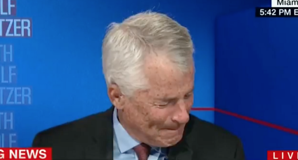 Ex-CIA officer Phil Mudd fights back tears discussing threats he got from MAGAbomber on Twitter