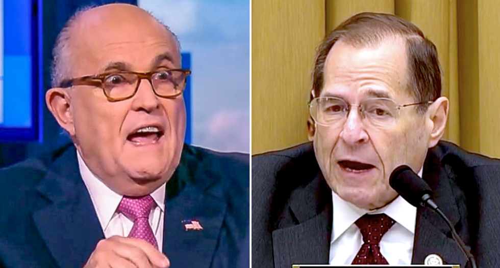 Rudy Giuliani rages against House Judiciary Chairman in grotesque Twitter meltdown