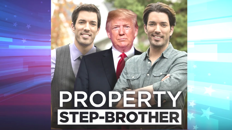 Seth Meyers mocks Trump as a 'wannabe Property Brother' over border wall construction