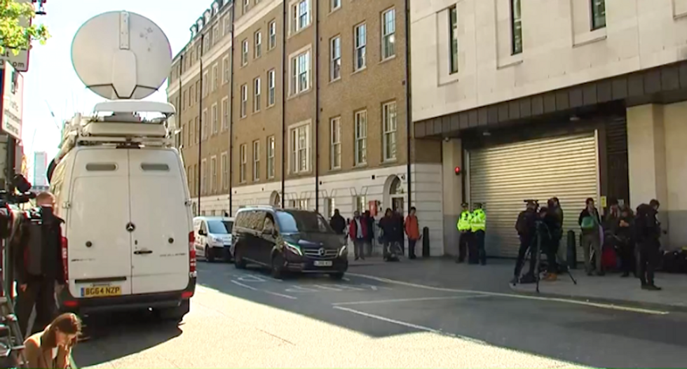 WATCH LIVE: Julian Assange to appear in court after his arrest in London