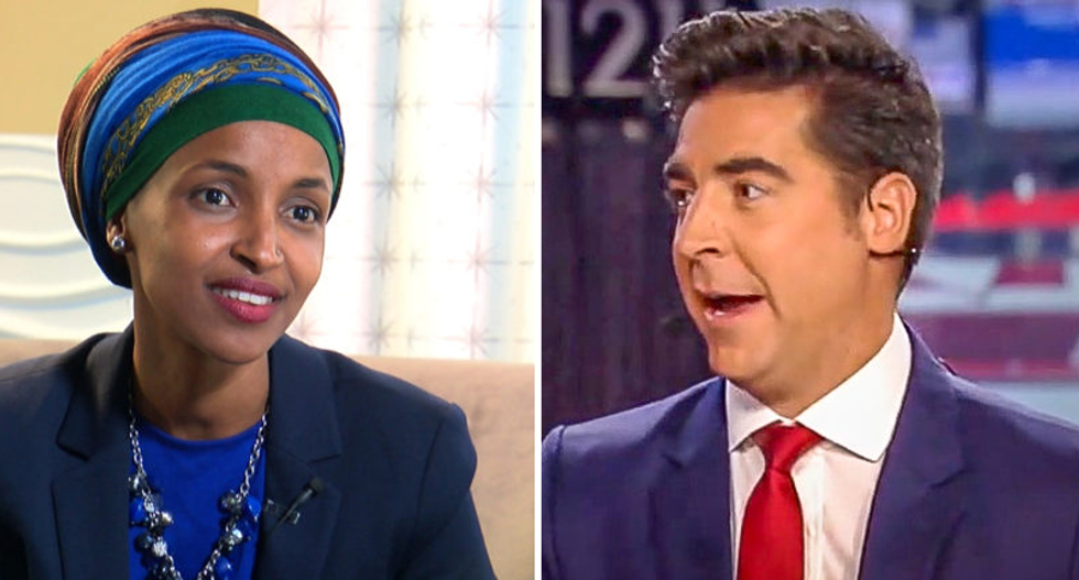 Fox host accuses Rep. Omar of playing the 'race card' after she admits she's getting death threats