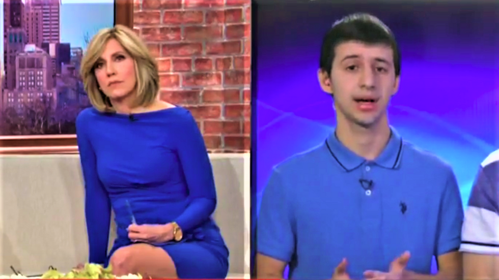 WATCH: Parkland shooting survivors crush 'despicable' Trump supporter who called them George Soros puppets