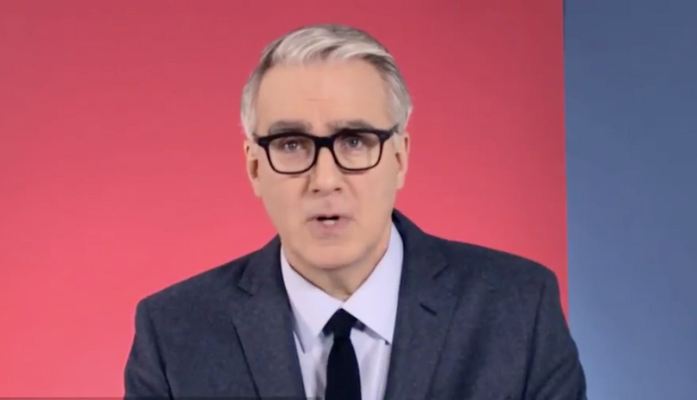 Keith Olbermann pleads with Trump supporters: 'His illness is putting your family at risk'