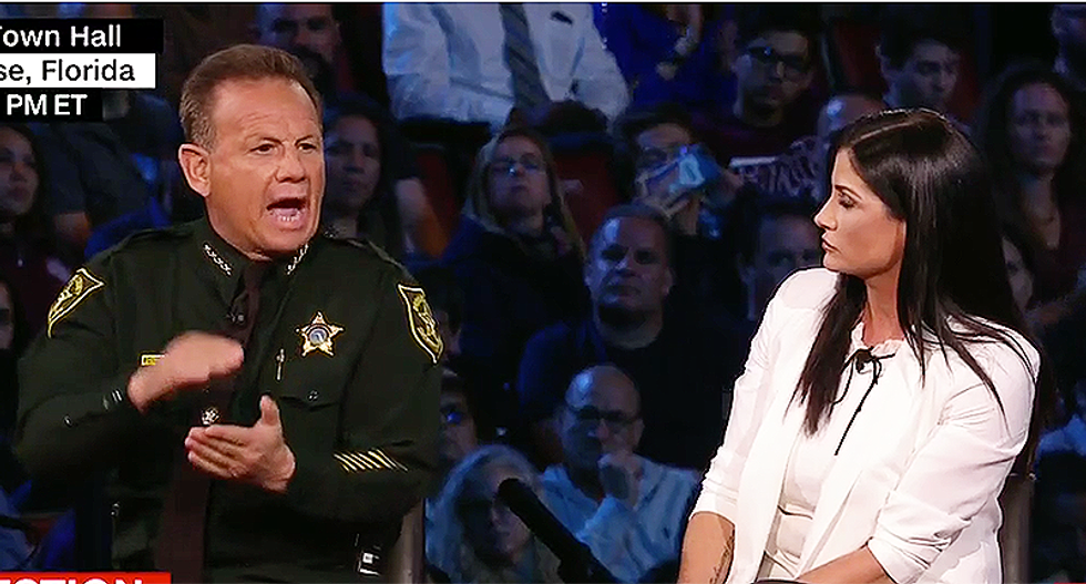 Broward county sheriff hammers NRA's Dana Loesch: 'You're not standing up' for Parkland students