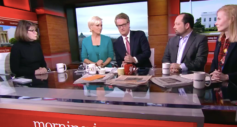 'They're scared this time': MSNBC panel recoils in horror at NRA ad blaming 'mainstream media' for gun violence