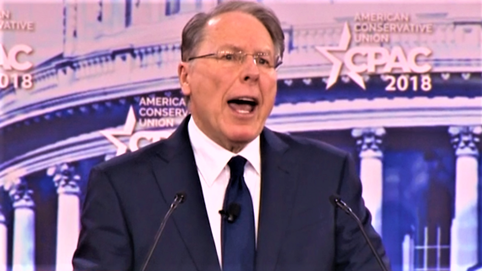 WATCH: NRA chief calls on FBI agents to mount a 'resistance' against leaders in bonkers CPAC speech