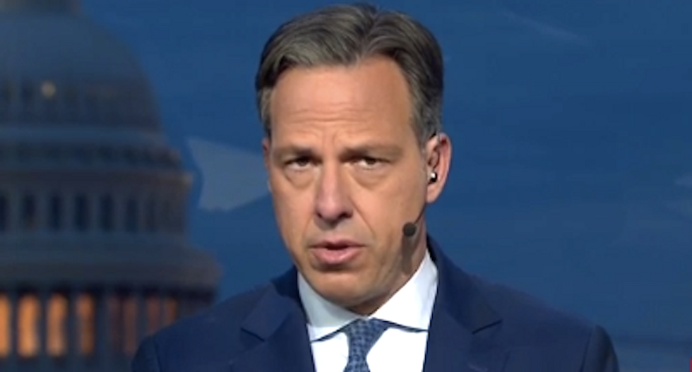 'Arf arf': CNN's Jake Tapper taunts Trump's 'obedient attack dogs' to come and get him after shredding Conway