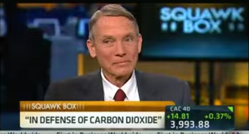 Trump met with climate skeptic who compared the 'demonization of carbon dioxide' to 'Jews under Hitler'