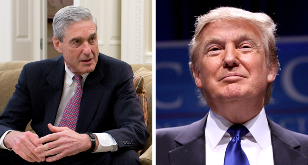Trump can't stop ranting about Robert Mueller and Joe Biden during Mother's Day celebration