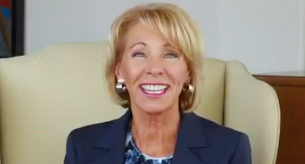 Angry teachers slap down praise from Betsy DeVos: 'You can thank us by resigning'