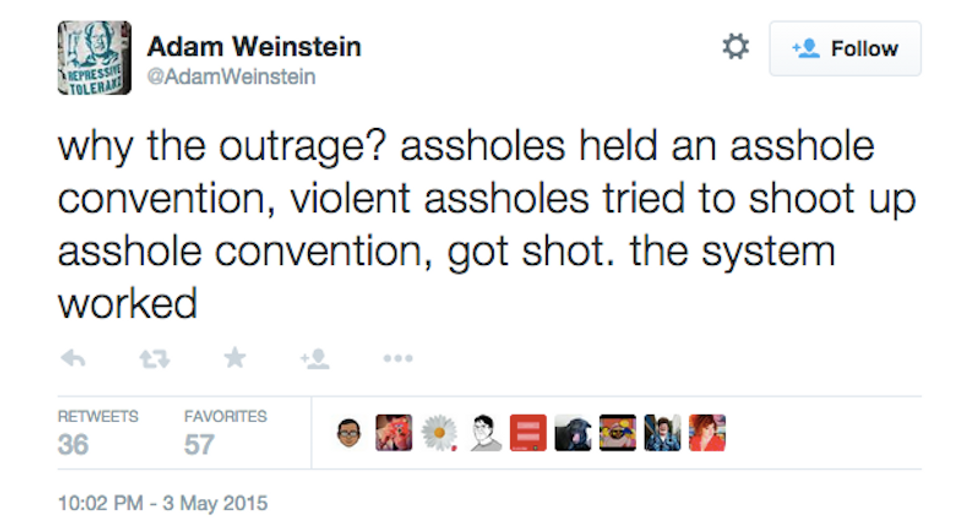 Piss Christ, guns, and bigotry: Twitter reacts to the Garland art show shootings